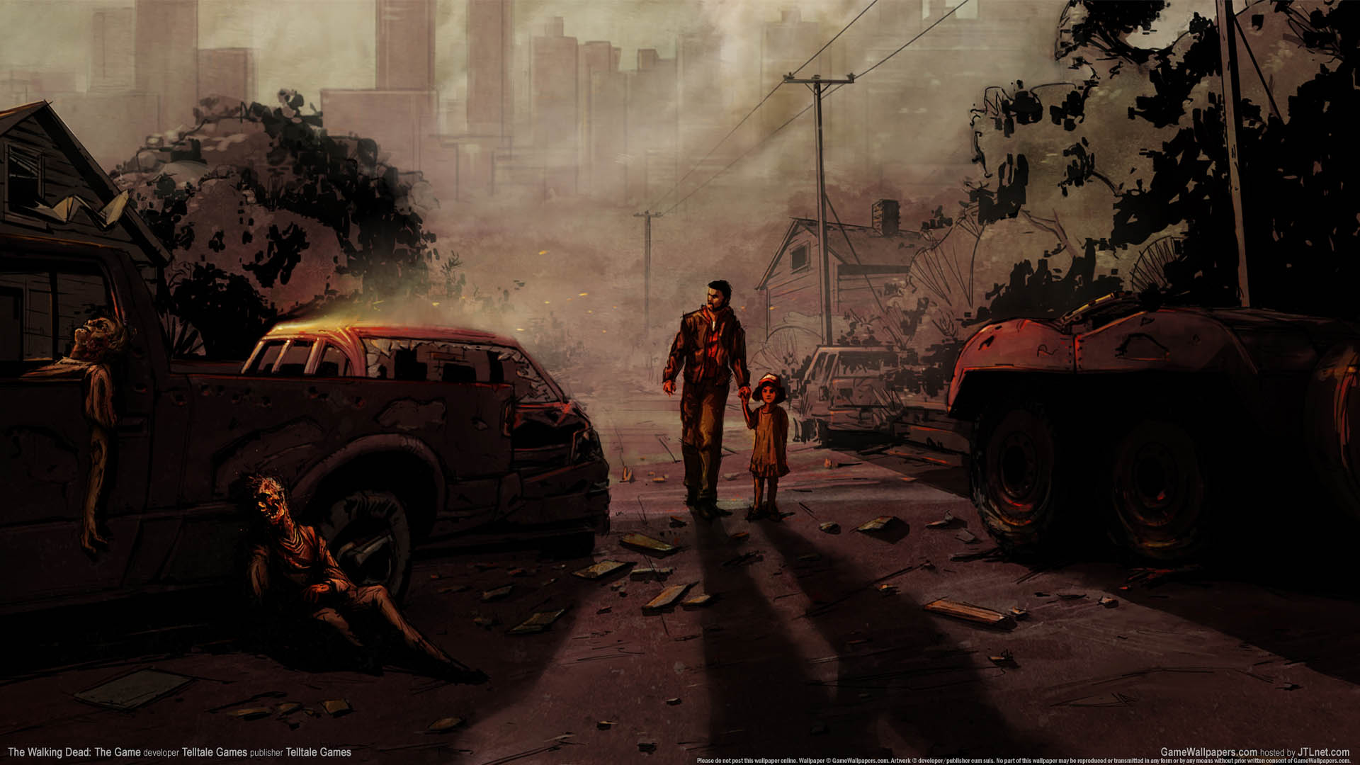 The Walking Dead The Game Hintergrundbild 01 1920x1080