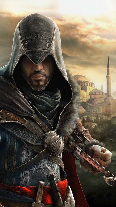 Assassin's Creed Revelations Handy Vertikal Hintergrundbild