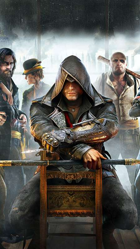 Assassin's Creed: Syndicate Handy Vertikal Hintergrundbild