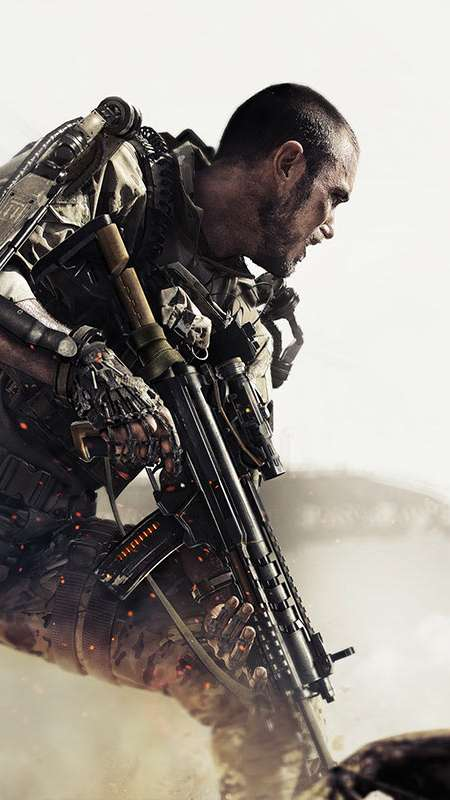 Call of Duty: Advanced Warfare Handy Vertikal Hintergrundbild
