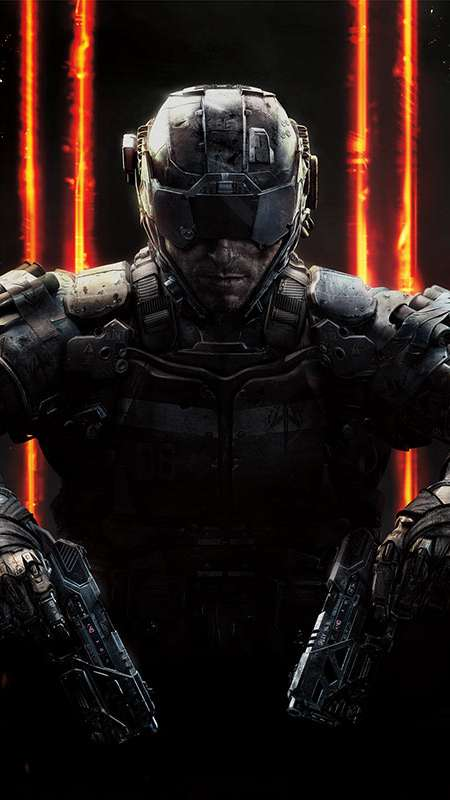 Call of Duty: Black Ops 3 Handy Vertikal Hintergrundbild