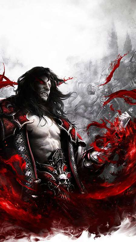 Castlevania: Lords of Shadow 2 Handy Vertikal Hintergrundbild