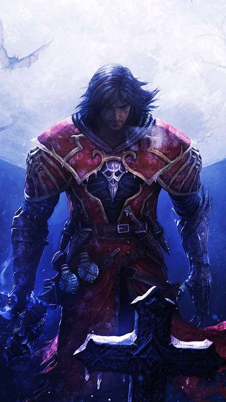 Castlevania: Lords of Shadow Reverie Handy Vertikal Hintergrundbild