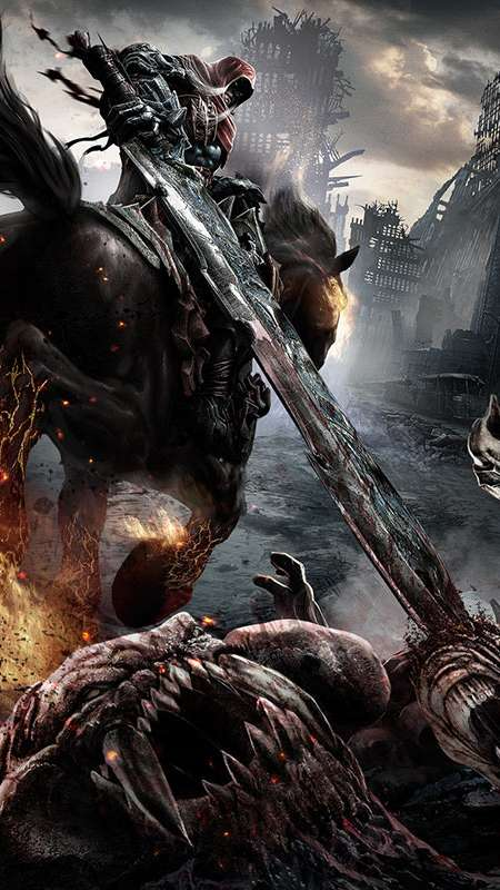 Darksiders: Wrath of War Handy Vertikal Hintergrundbild