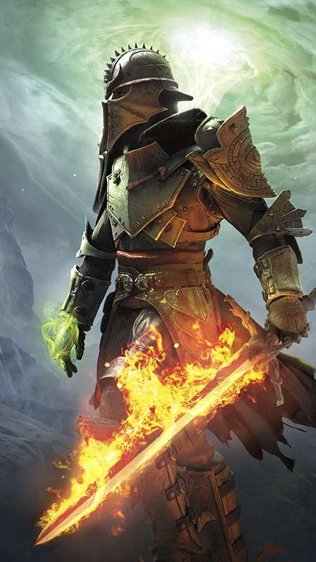 Dragon Age: Inquisition Handy Vertikal Hintergrundbild