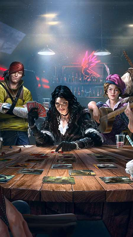 GWENT: The Witcher Card Game Handy Vertikal Hintergrundbild