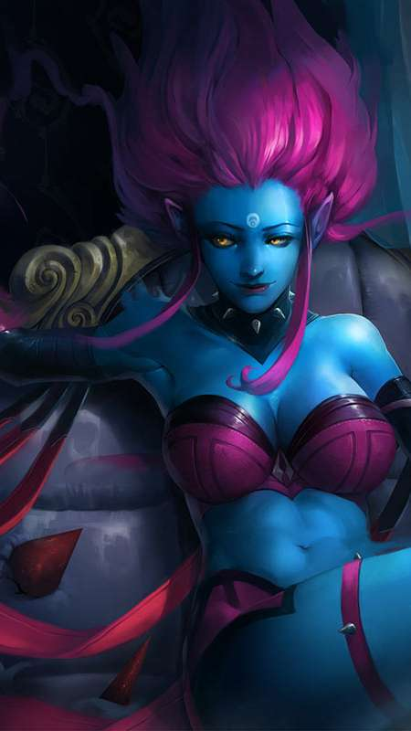 League of Legends fan art Handy Vertikal Hintergrundbild