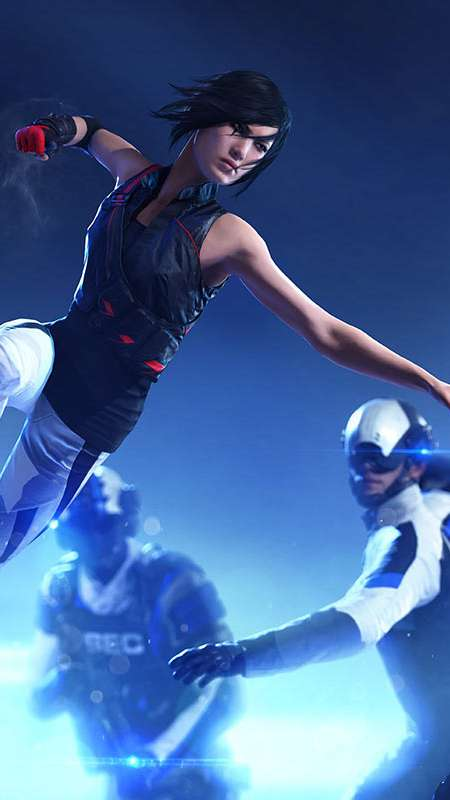 Mirror's Edge: Catalyst Handy Vertikal Hintergrundbild