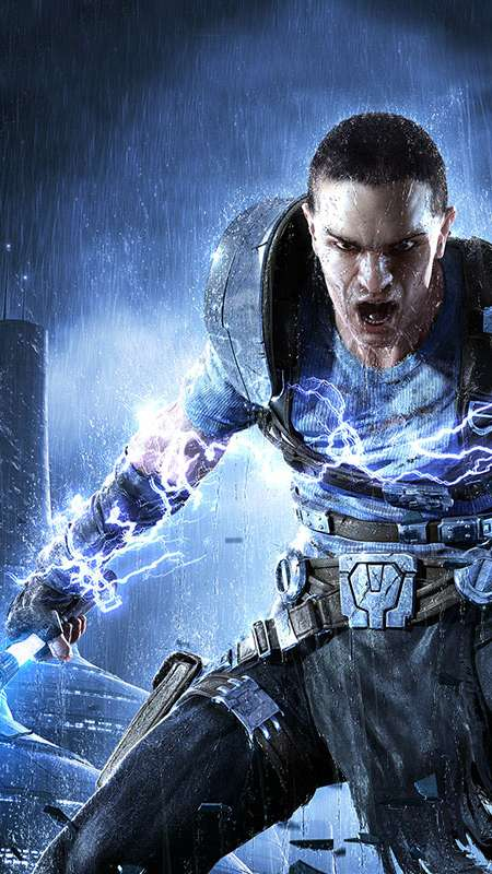 Star Wars: The Force Unleashed 2 Handy Vertikal Hintergrundbild