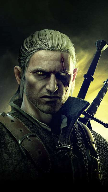 The Witcher 2: Assassins of Kings Handy Vertikal Hintergrundbild