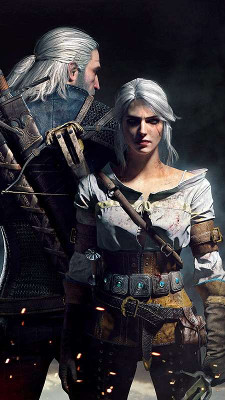 The Witcher 3: Wild Hunt Handy Vertikal Hintergrundbild