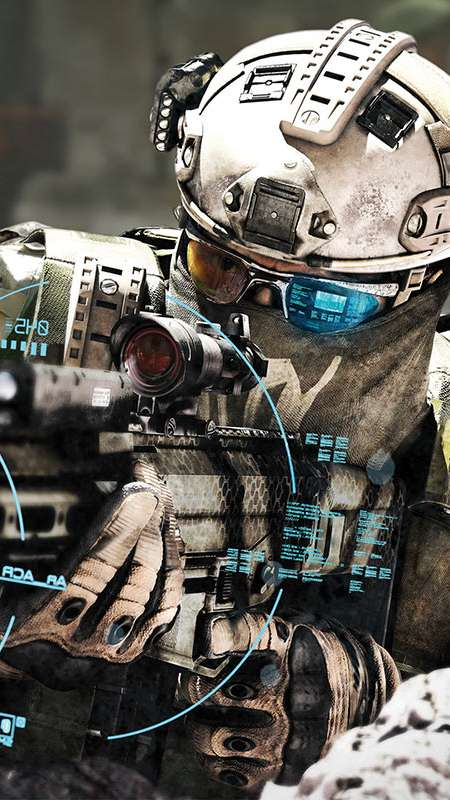 Tom Clancy's Ghost Recon: Future Soldier Handy Vertikal Hintergrundbild