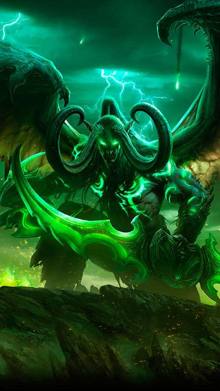 World of Warcraft: Legion Handy Vertikal Hintergrundbild