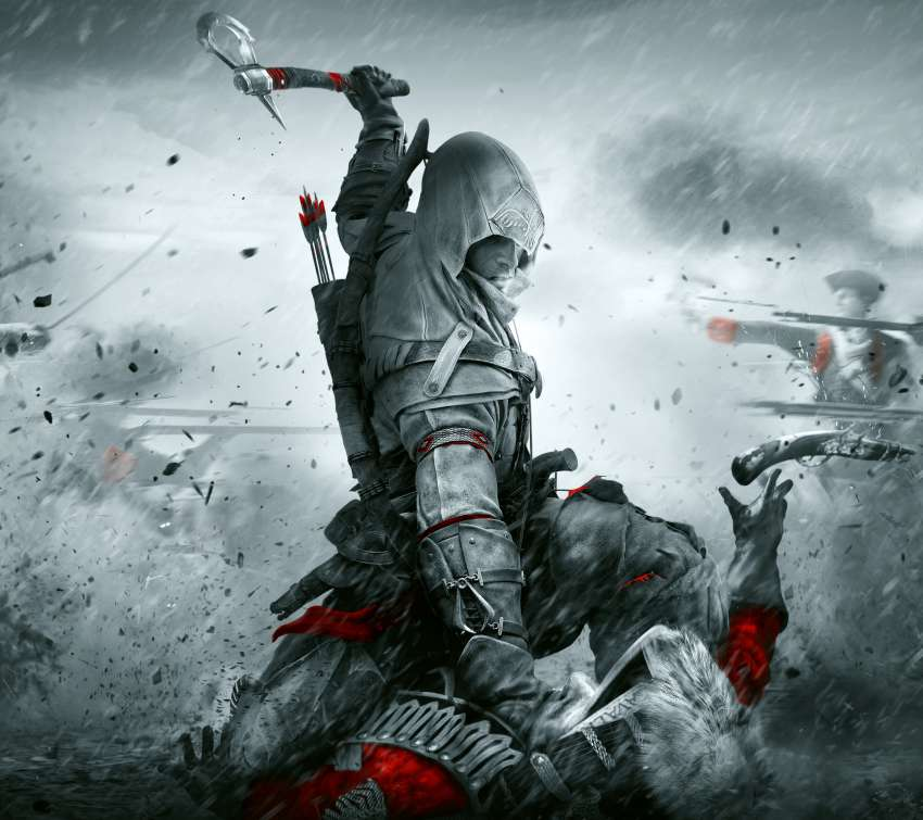 Assassin's Creed III: Remastered Handy Horizontal Hintergrundbild