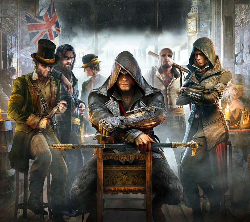 Assassin's Creed: Syndicate Handy Horizontal Hintergrundbild
