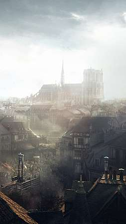Assassin's Creed: Unity Handy Vertikal Hintergrundbild