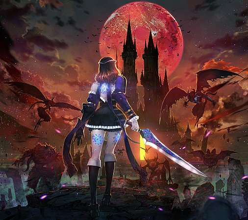 Bloodstained: Ritual of the Night Handy Horizontal Hintergrundbild