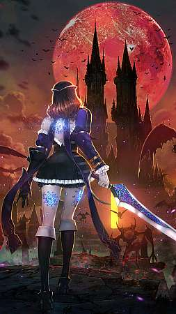 Bloodstained: Ritual of the Night Handy Vertikal Hintergrundbild
