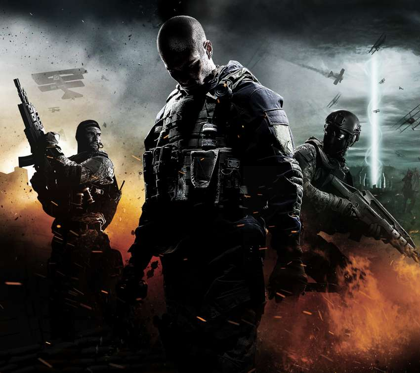 Call of Duty: Black Ops 2 Apocalypse Hintergrundbild