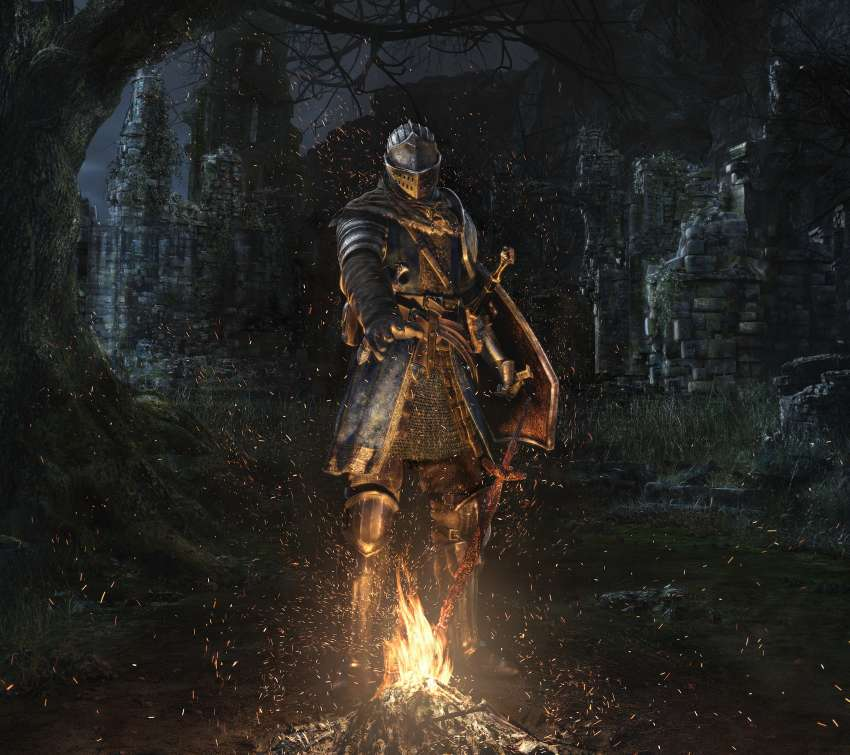 Dark Souls: Remastered Handy Horizontal Hintergrundbild