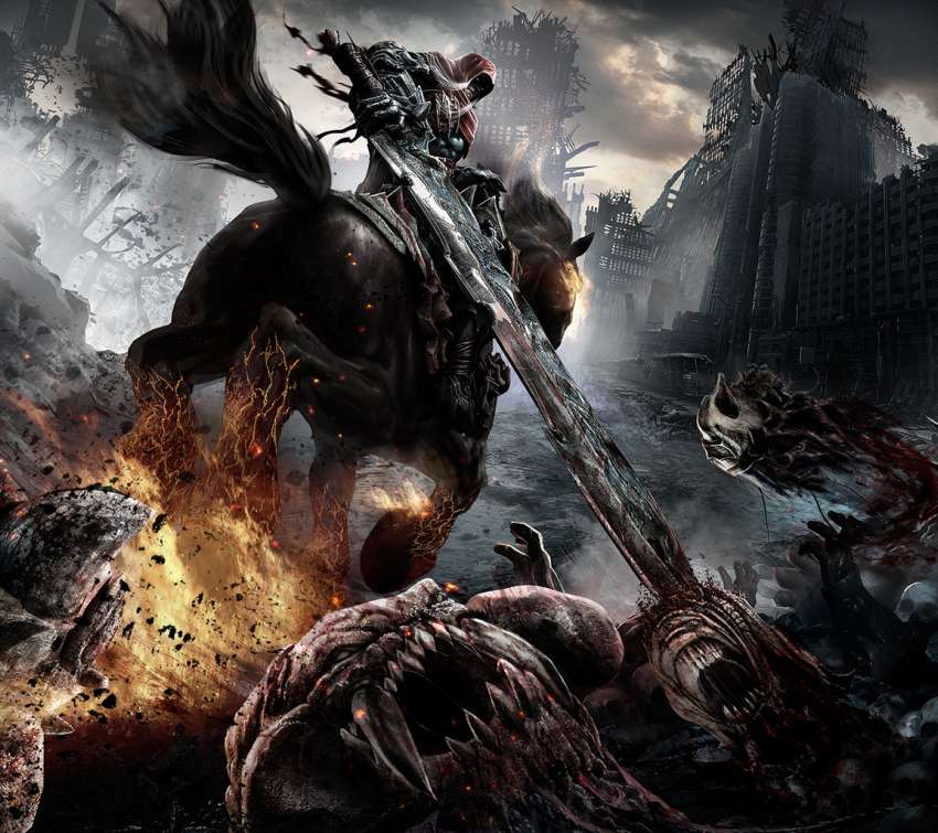 Darksiders: Wrath of War Handy Horizontal Hintergrundbild