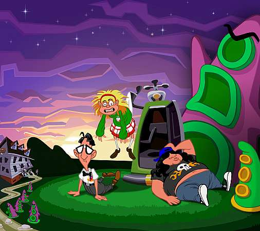 Day of the Tentacle Remastered Handy Horizontal Hintergrundbild