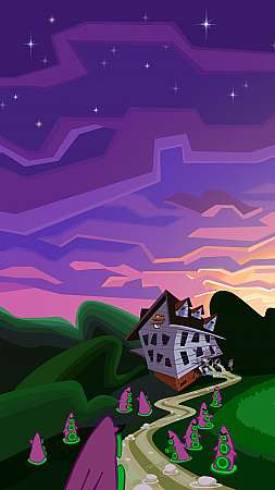 Day of the Tentacle Remastered Handy Vertikal Hintergrundbild