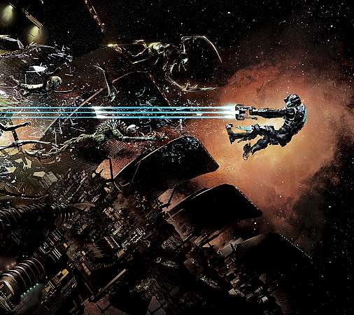 Dead Space 2 Handy Horizontal Hintergrundbild