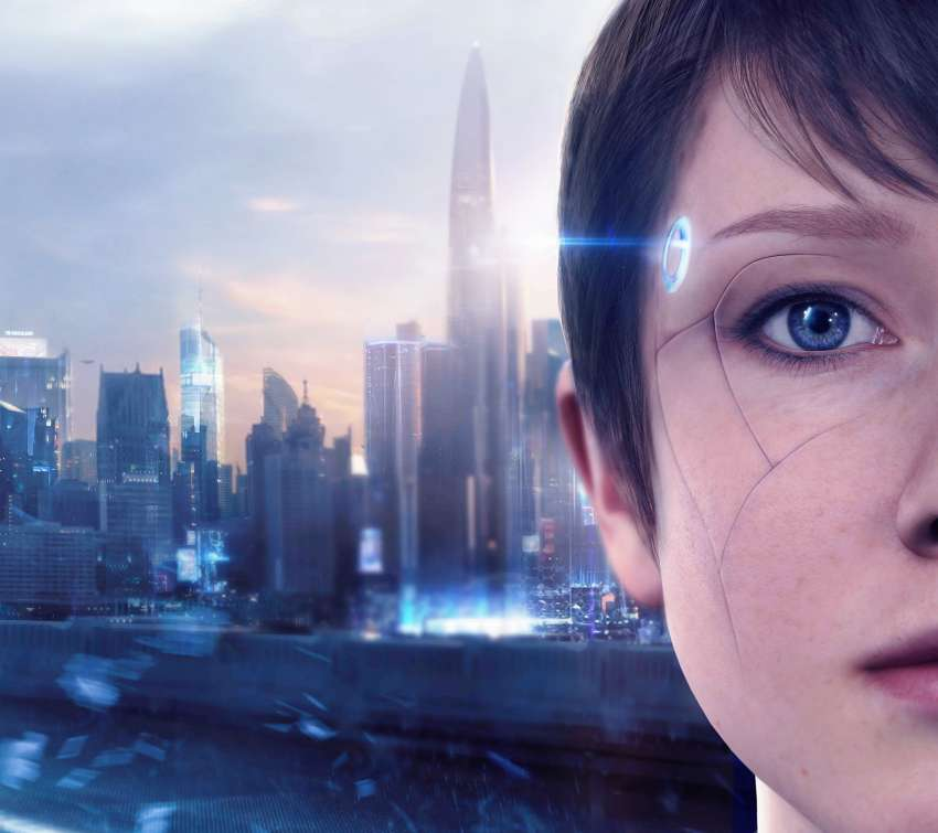 Detroit: Become Human Handy Horizontal Hintergrundbild