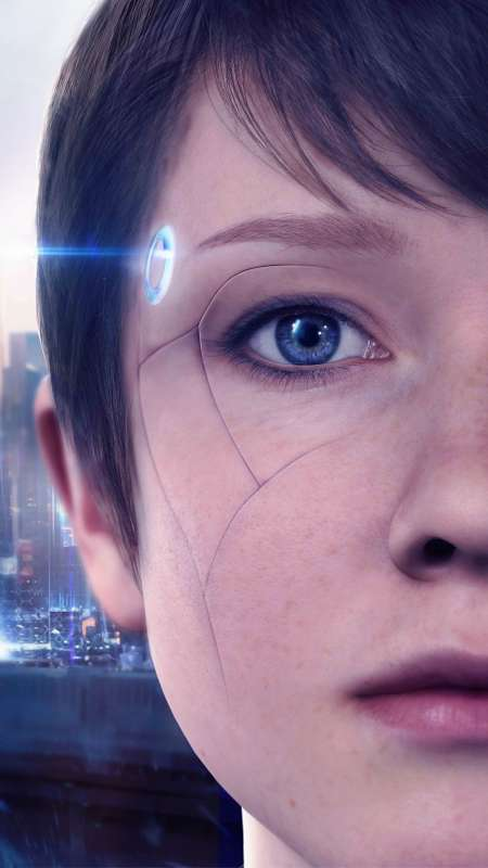 Detroit: Become Human Handy Vertikal Hintergrundbild