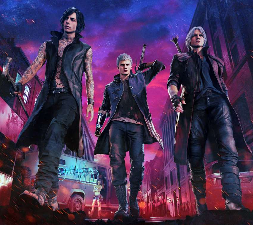 Devil May Cry 5 Hintergrundbild