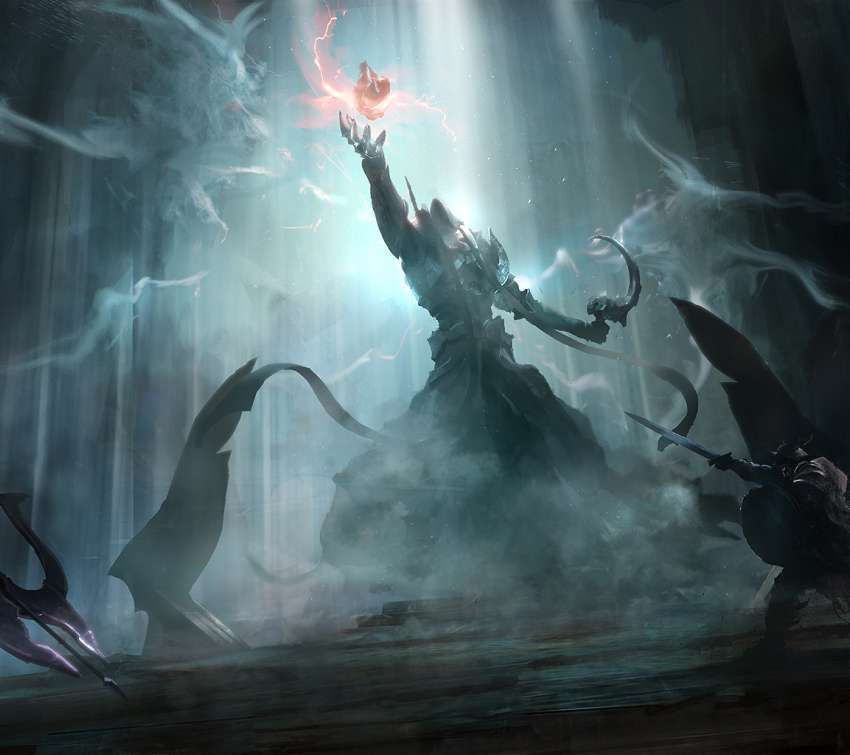 Diablo 3: Reaper of Souls Fan Art Handy Horizontal Hintergrundbild