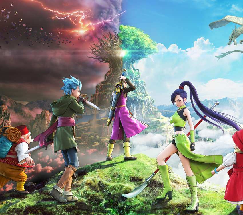 Dragon Quest XI: Echoes of an Elusive Age Handy Horizontal Hintergrundbild