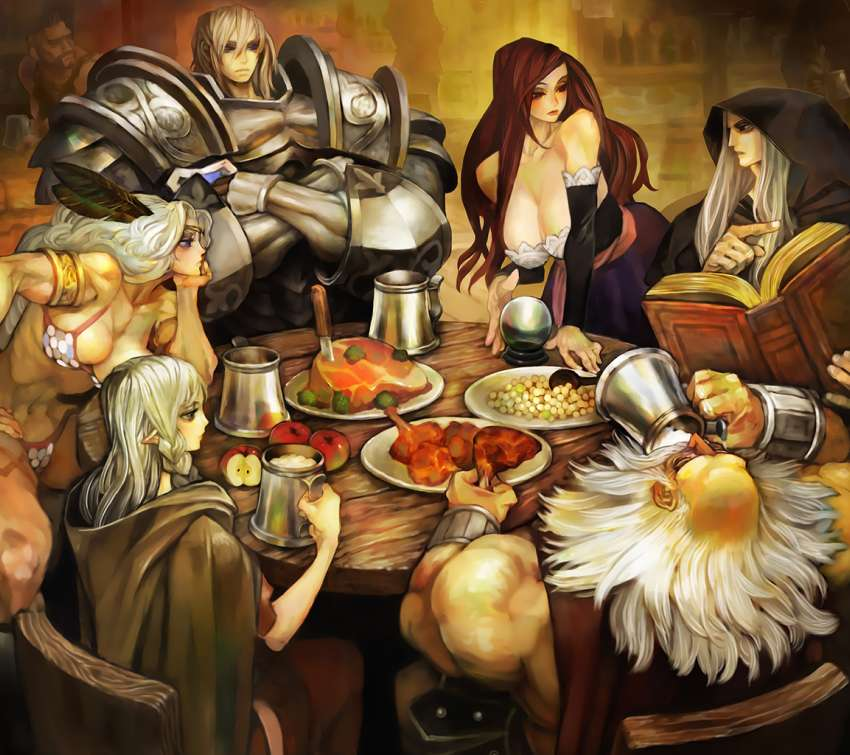 Dragon's Crown Hintergrundbild
