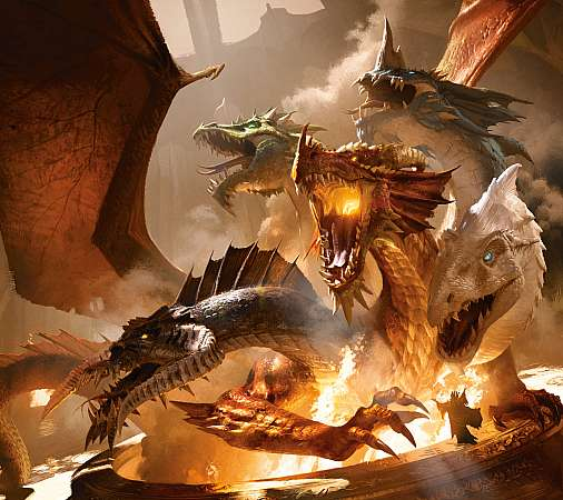 Dungeons & Dragons Handy Horizontal Hintergrundbild