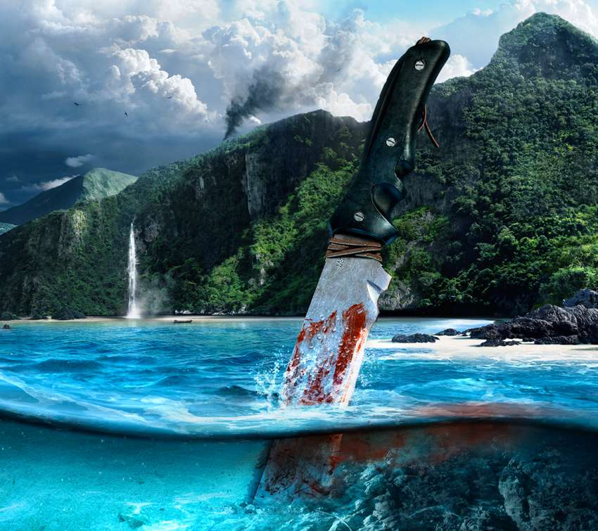 Far Cry 3 Handy Horizontal Hintergrundbild