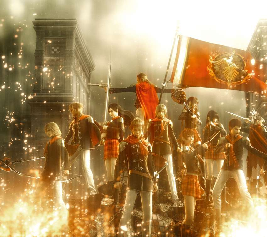 Final Fantasy Type-0 Hintergrundbild