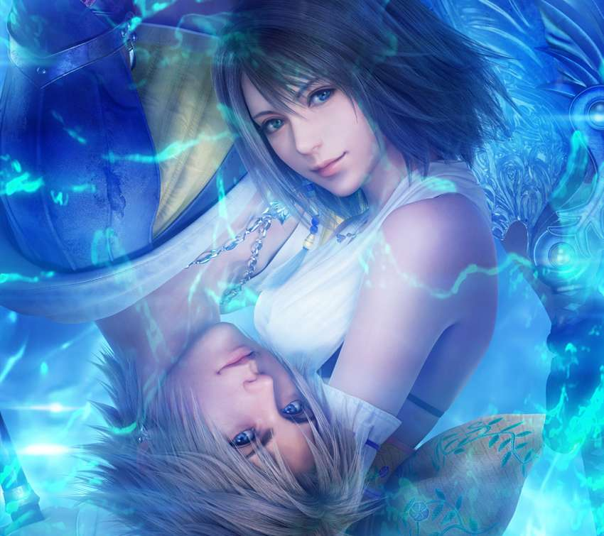 Final Fantasy X - X-2 HD Handy Horizontal Hintergrundbild