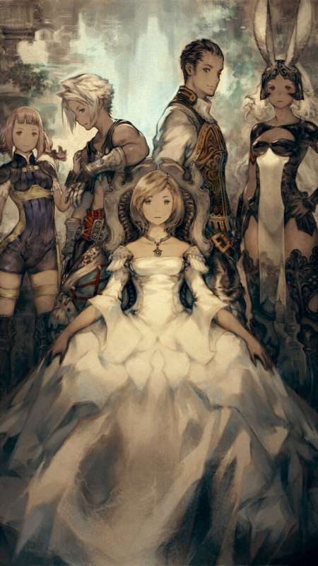 Final Fantasy XII The Zodiac Age Handy Vertikal Hintergrundbild