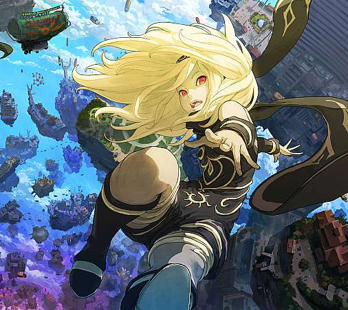 Gravity Rush 2 Handy Horizontal Hintergrundbild