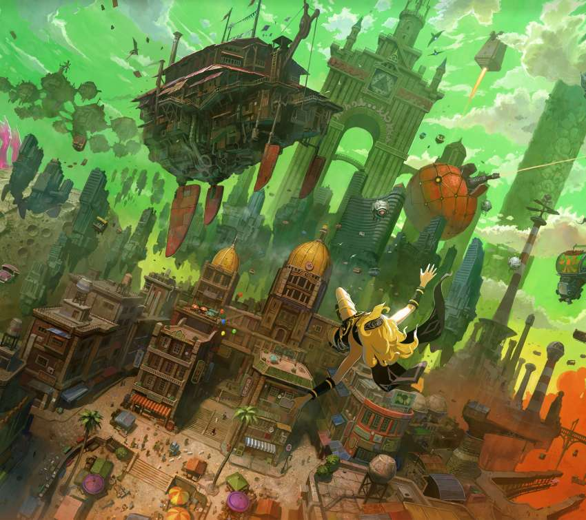 Gravity Rush Remastered Hintergrundbild