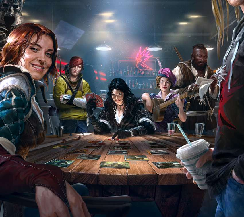 GWENT: The Witcher Card Game Handy Horizontal Hintergrundbild