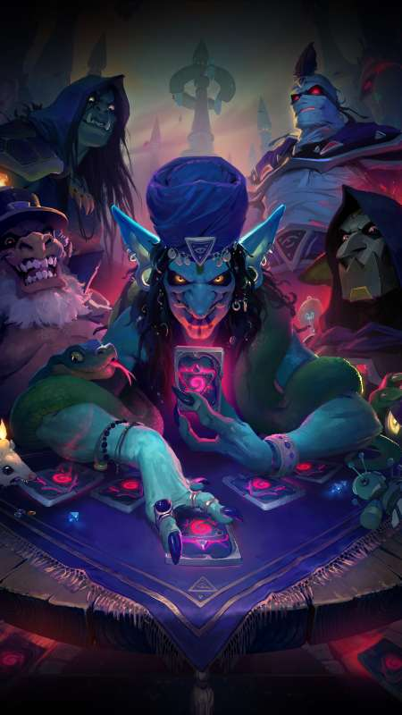 Hearthstone: Rise of Shadows Handy Vertikal Hintergrundbild