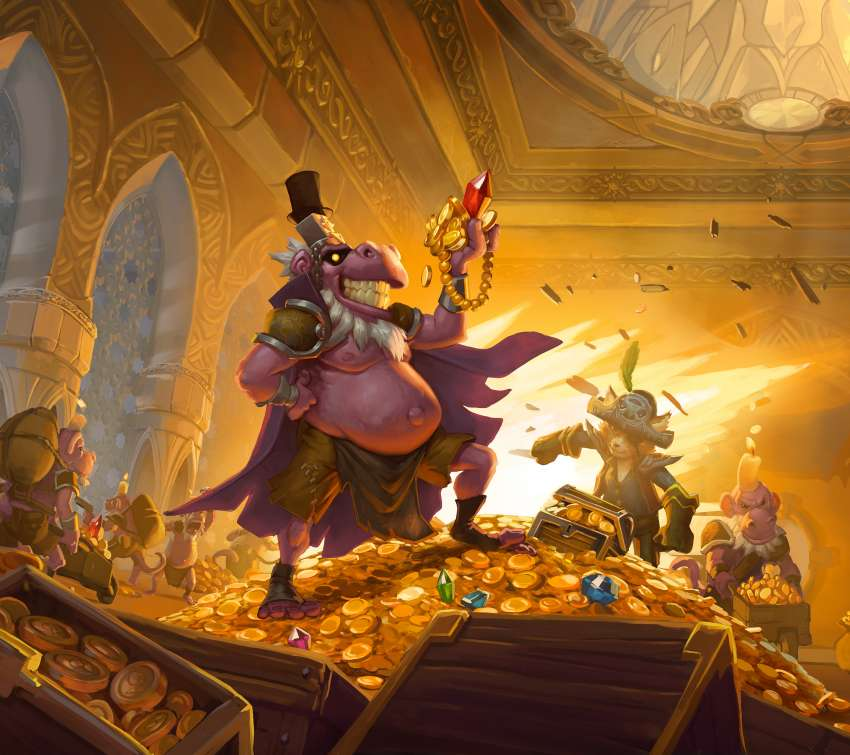 Hearthstone: The Dalaran Heist Handy Horizontal Hintergrundbild