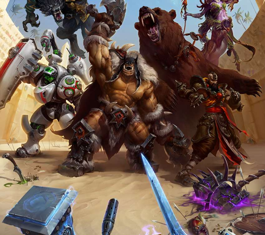 Heroes of the Storm Hintergrundbild