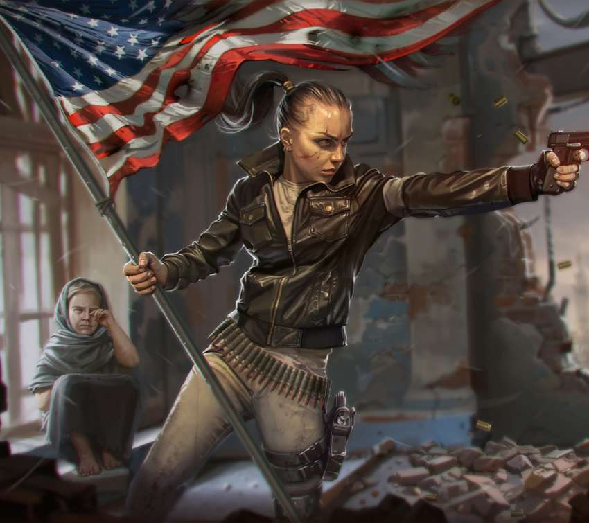 Homefront fan art Handy Horizontal Hintergrundbild