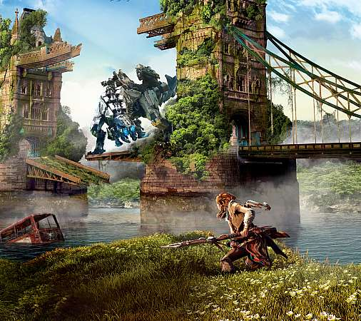 Horizon: Zero Dawn Handy Horizontal Hintergrundbild