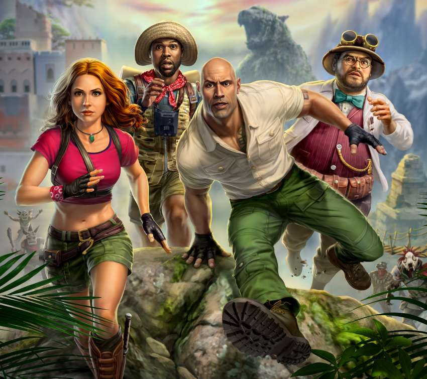 Jumanji: The Video Game Handy Horizontal Hintergrundbild