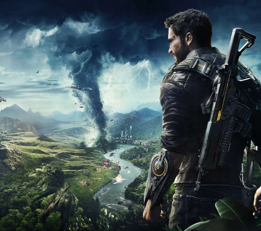 Just Cause 4 Handy Horizontal Hintergrundbild
