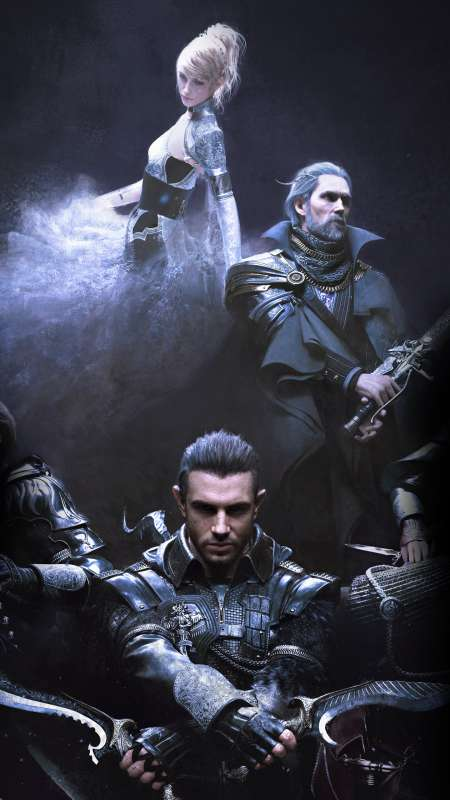 Kingsglaive: Final Fantasy XV Handy Vertikal Hintergrundbild